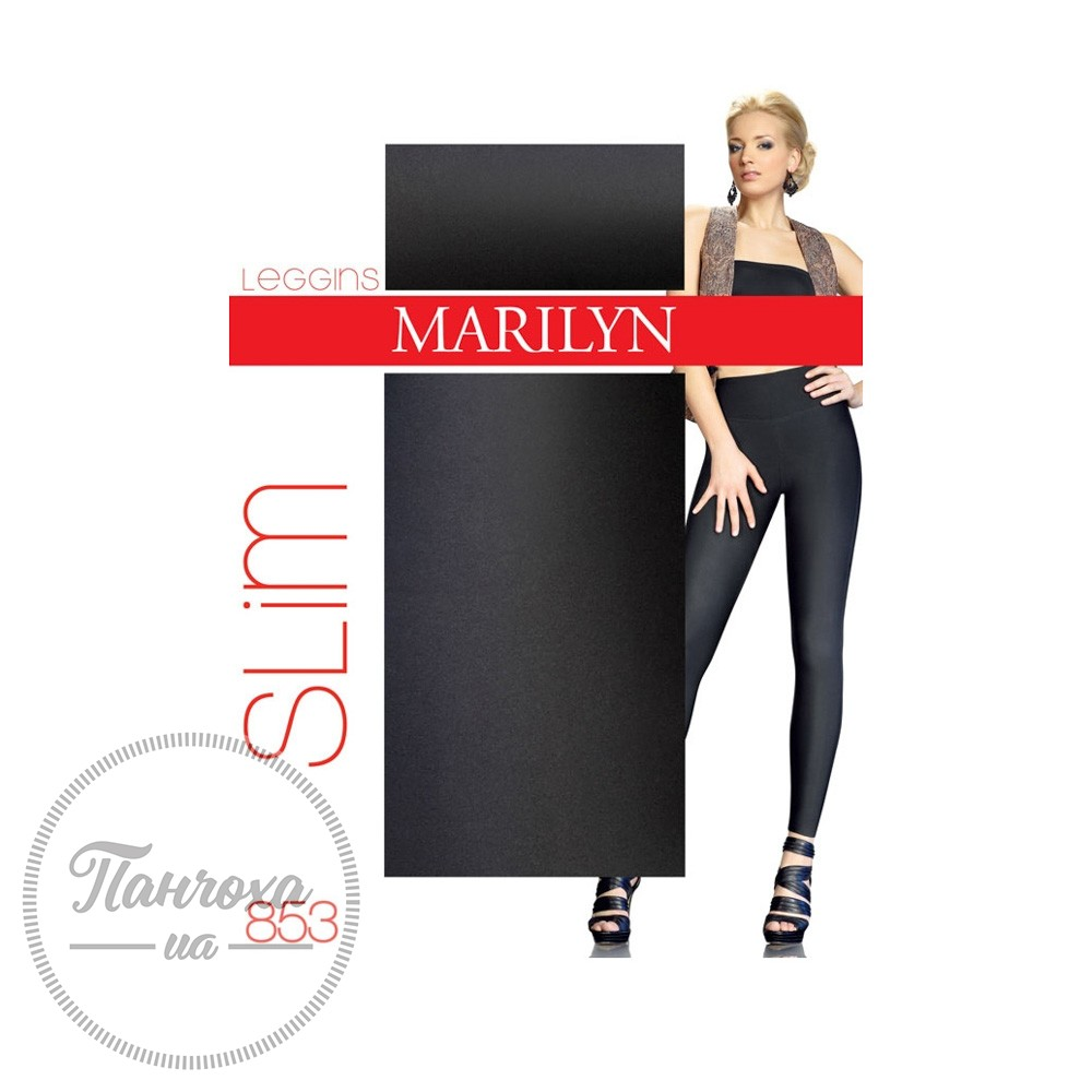 624ad5a0ba1ba4 Леггинсы женские MARILYN LEGGINSY SLIM 853 light (black,M/L)