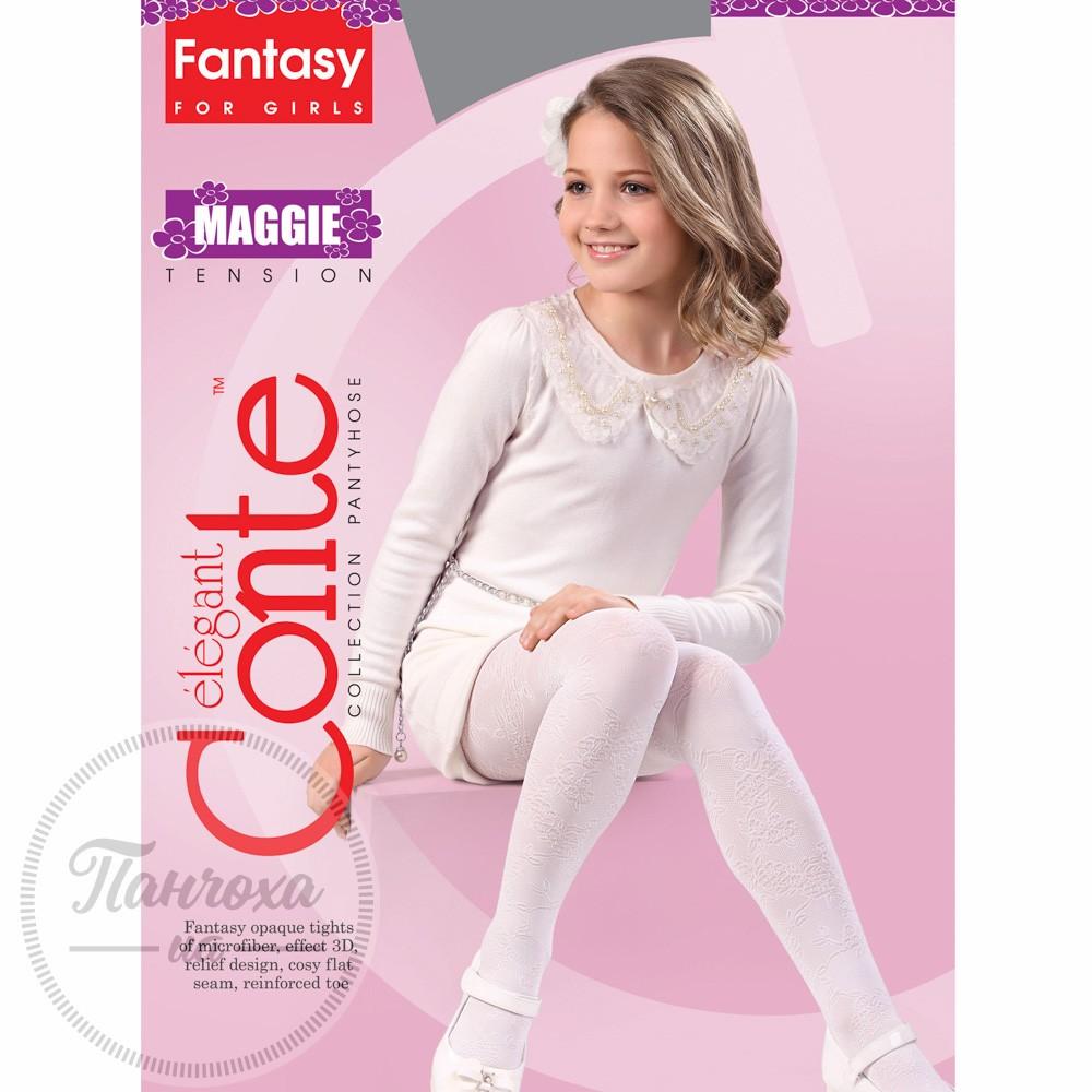 Колготки Conte Maggie 128-134 Bianco