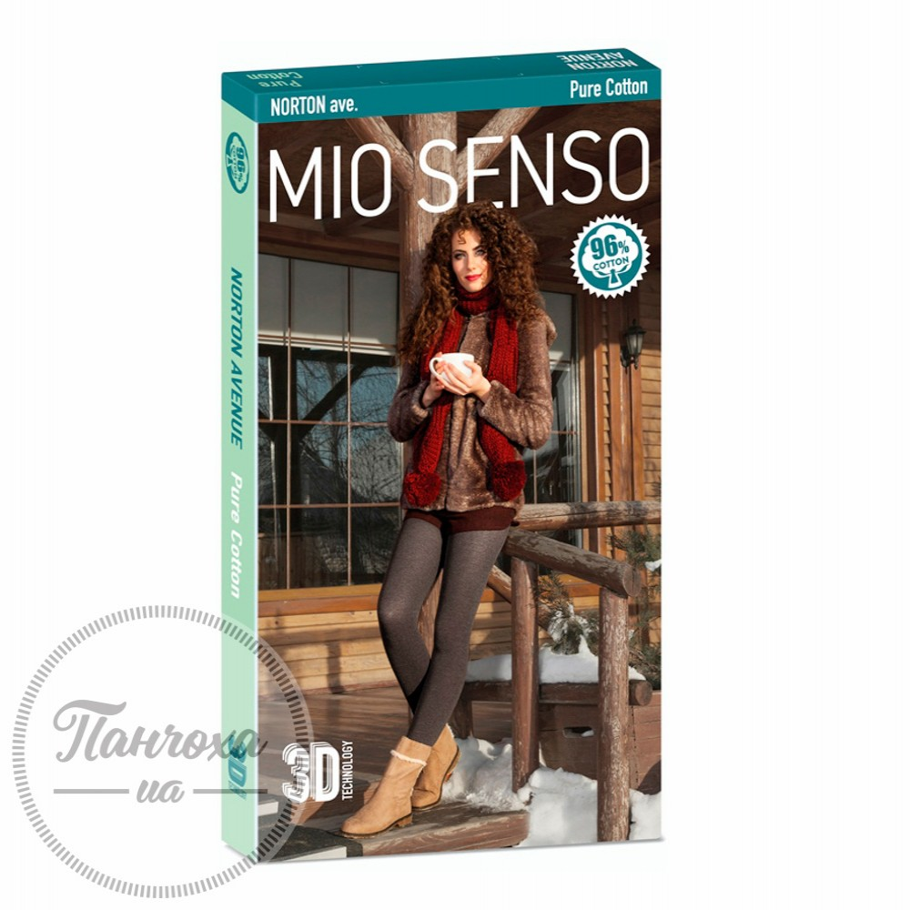 Колготи жіночі MIO SENSO NORTON AVENUE (pure cotton) р.5 Сірий
