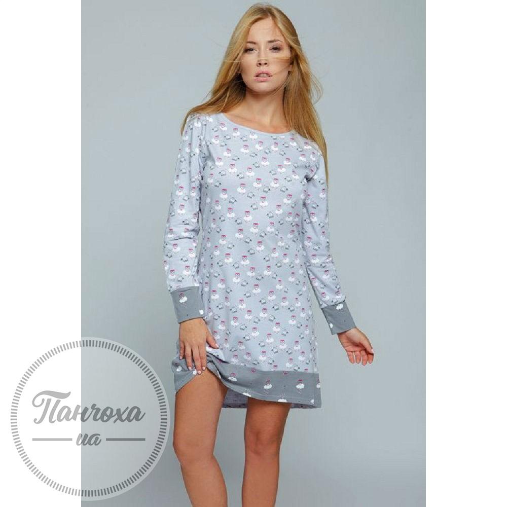 8887f71d0311 Ночная рубашка женская SENSIS Lovely р.S Серый