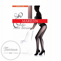 Колготки женские MARILYN EROTIC VITA BASSA 30 (nero,2/S)