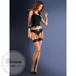 Панчохи жіночі Gabriella EROTICA (garter set/blue night)